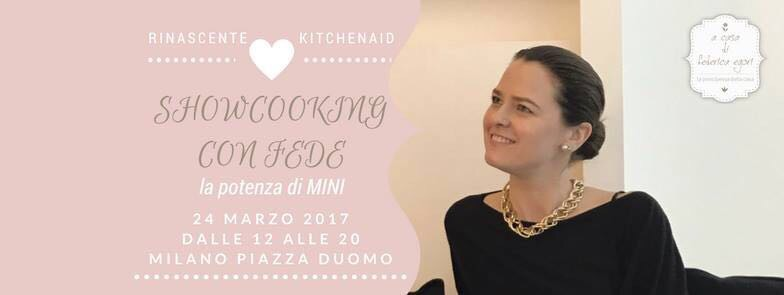 """Evento KitchenAid """"lavori in corso"""""""